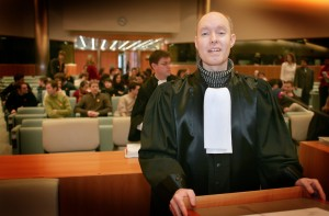 Hansk Kristian  Pedersen har også tidligere selv ført sin og Laserdisikens sag, bl.a. her for EF-Domstolen.
