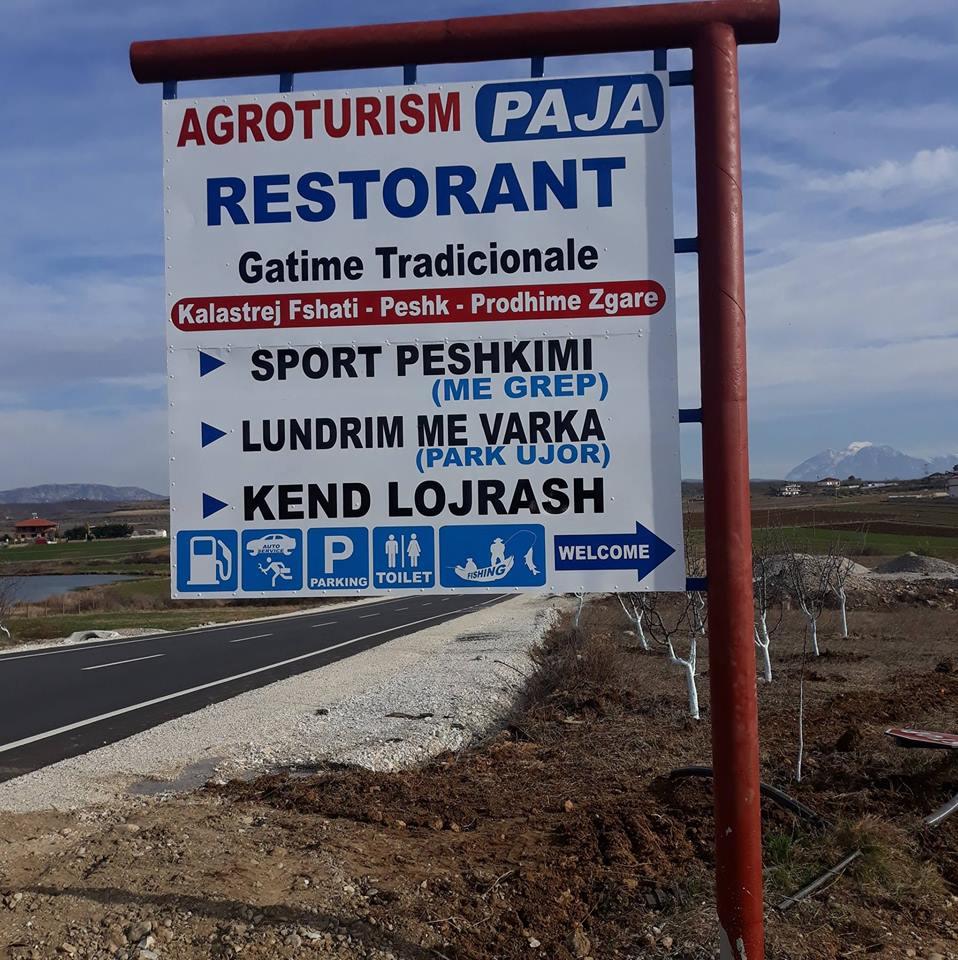 "Бар Ресторан ""Gëzim Paja"" Агротуризам"