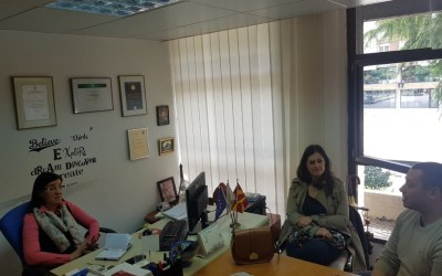 Остварена средба за соработка помеѓу СТЕП и Стопанската комора за туризам на Македонија