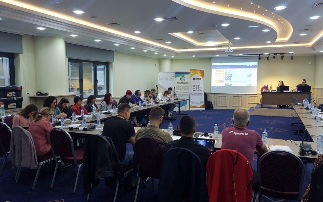 Dy hands on punëtori u organizuan për anëtarët e rrjetit STEP në Tetovë, Maqedoni e Veriut