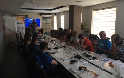 The third two-day training for the members of the STEP network was held on Popova Shapka on 27 June 2019