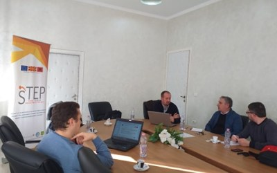 Working meeting of the STEP team in Elbasan