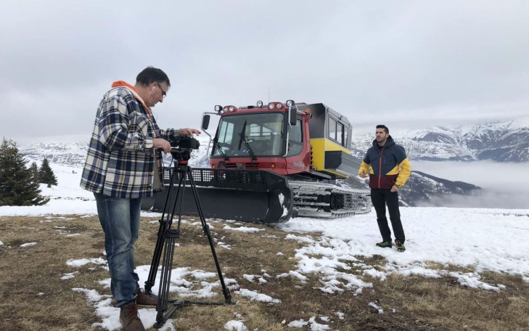Filming of 10 short videos dedicated to tourist promotion of Polog and Elbasan regions ends