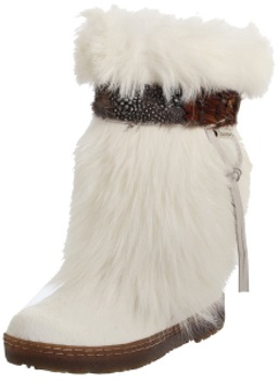 Bearpaw Kola II Women Round Toe Suede Snow Boot