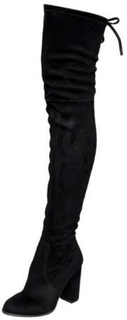 Beston GF58 Women's Block Heel Snug Fit Boot Review