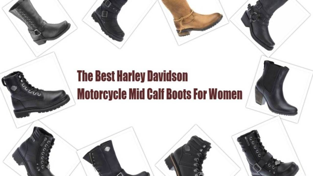 The Best Harley Davidson Motorcycle Mid Calf Boots 2017 2018