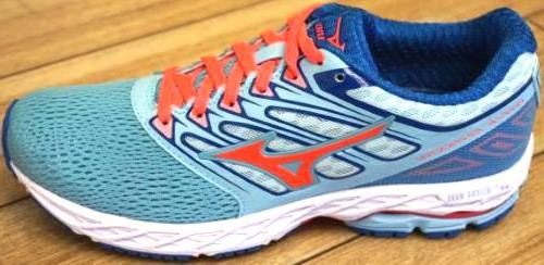 Mizuno Running Wave Shadow Shoes Blue