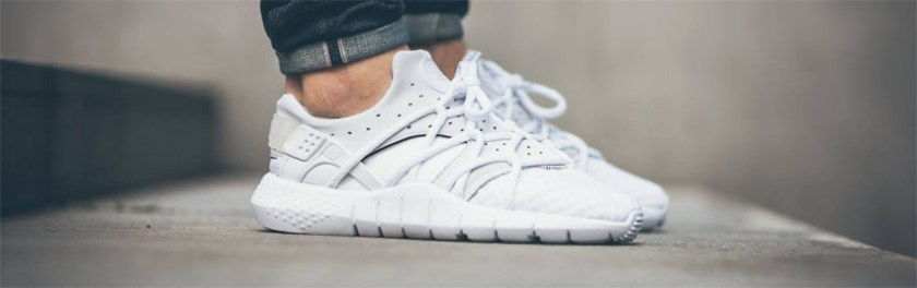 Nike shoes white model