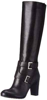 Nine West Women's Skylight Leather Knee High Boot