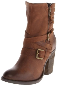 Steve Madden Women's Raleighh Motorcycle Boot