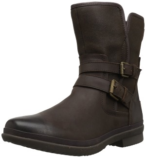 UGG Australia Women's Simmens lined with Plush Wool Leather Boot