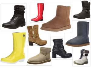 UGG boots collage