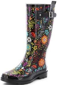 Western Chief Women's Waterproof Printed Tall Rain Boot Review