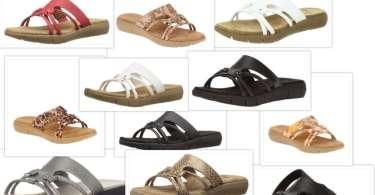 aerosoles wip away sandals collage