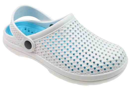 Capelli New York Ladies Injected Clog With Backstrap Removable Sock