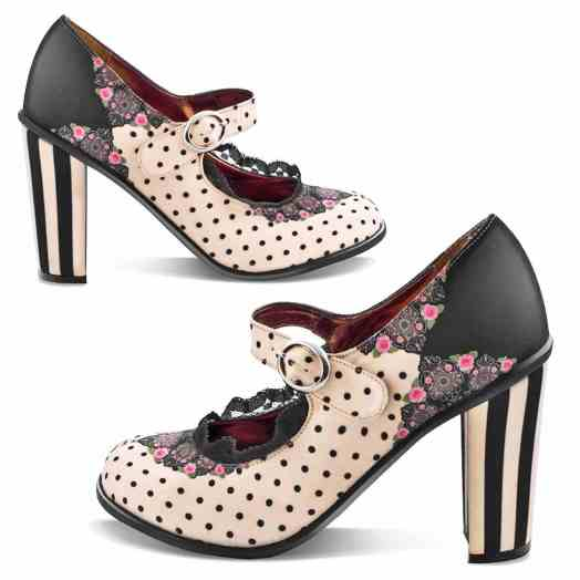 Chocolaticas High Heels Doris Mary Jane Pump