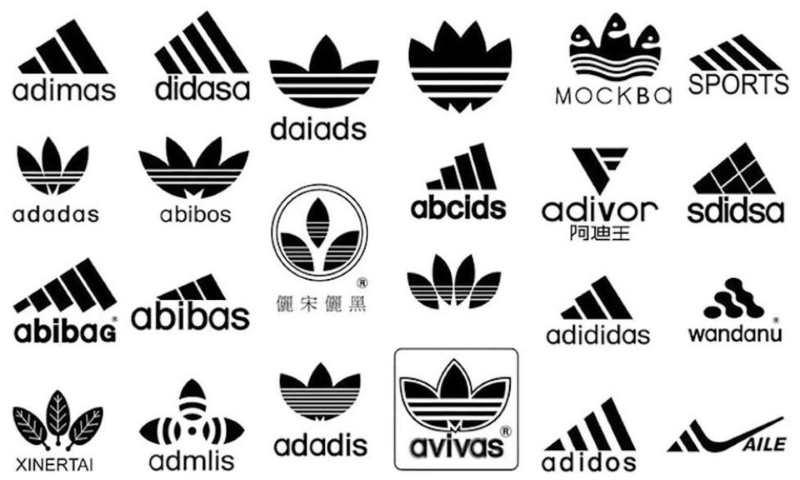 Fake Adidas Logo Compilation