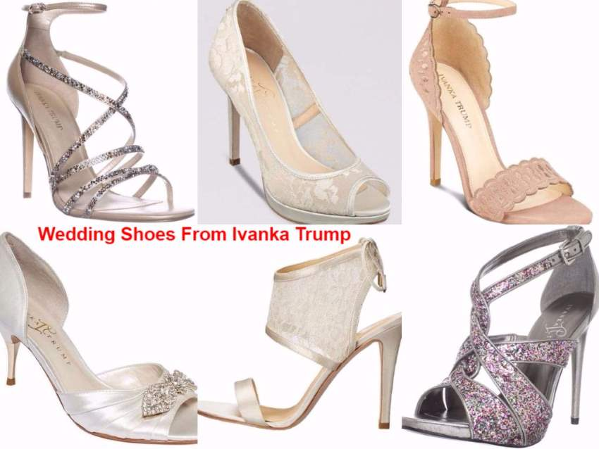 5cb4f2901dd The Best 6 Ivanka Trump Wedding Shoes in 2010 - 2017  Bride and Bridesmaid  Guide