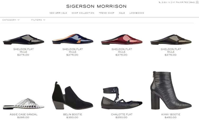 Sigersonmorrison.com Assortment