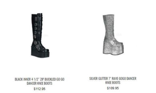 knee boots