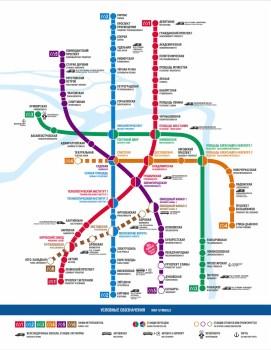 2012.12.01 - Новая схема метро Санкт-Петербурга на 2013 год