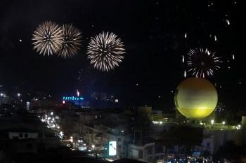 2013.01.03 - Новогодние фейерверки в Паттайе - Путешествие в Таиланд
