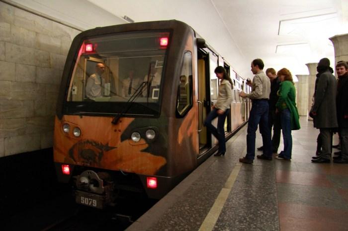 1. Вагоны метро Русич выпускались в нескольких модификациях, но проблемы шума остались (фото: Flickr/Vokabre / CC BY-SA)