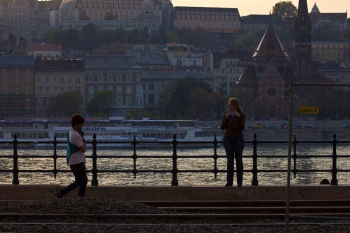 18. Набережная Дуная у парламента Венгрии
