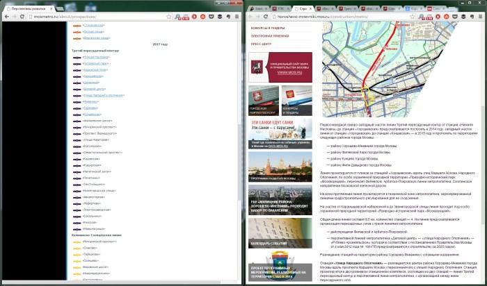 2014.01.27 - Строительство ТПК - устаревшая информация на сайтах правительства Москвы