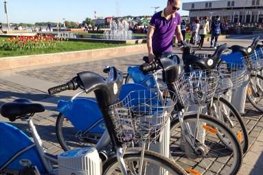 2014.06.03 - На велосипедах казанского байкшеринга Veli`k (2)