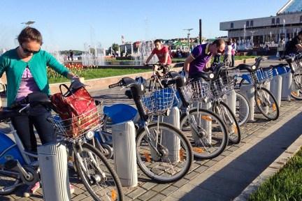 2014.06.03 - На велосипедах казанского байкшеринга Veli`k (3)