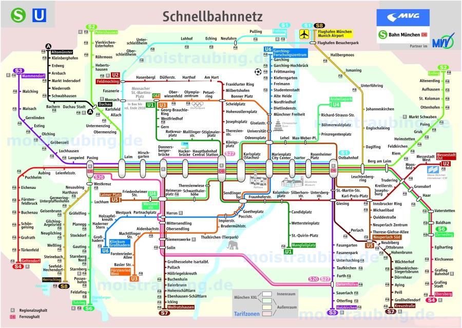 shema metro munic
