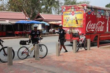 2014.06.23 - 06 - Полицейские в влосипедами. Таиланд