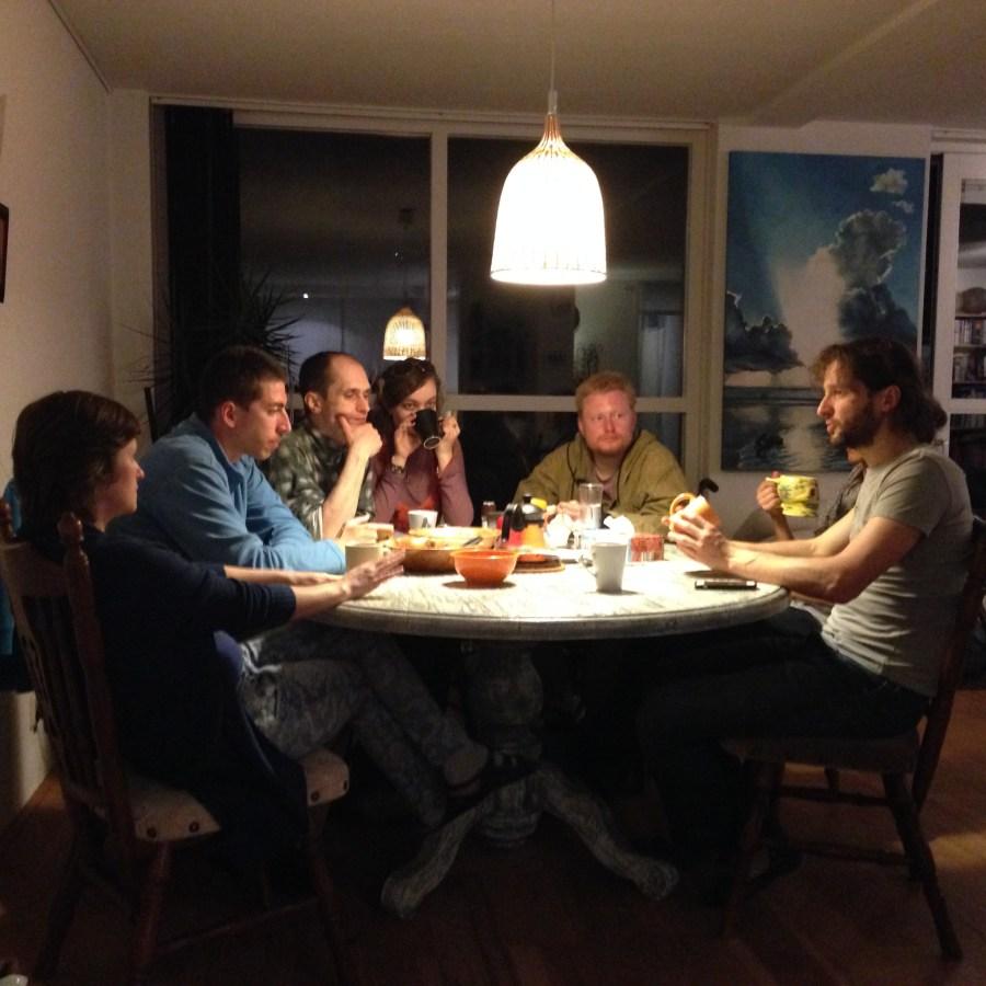 Первый голландский ужин