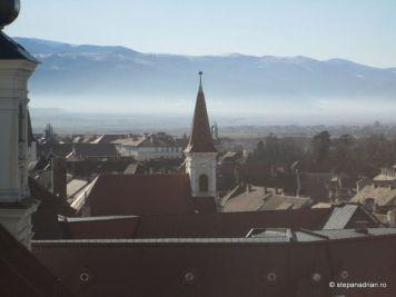 Turnul Sfatului Sibiu-vedere din turn 3