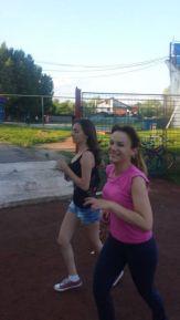 Asociația Suflețel alergând pentru Oana :)