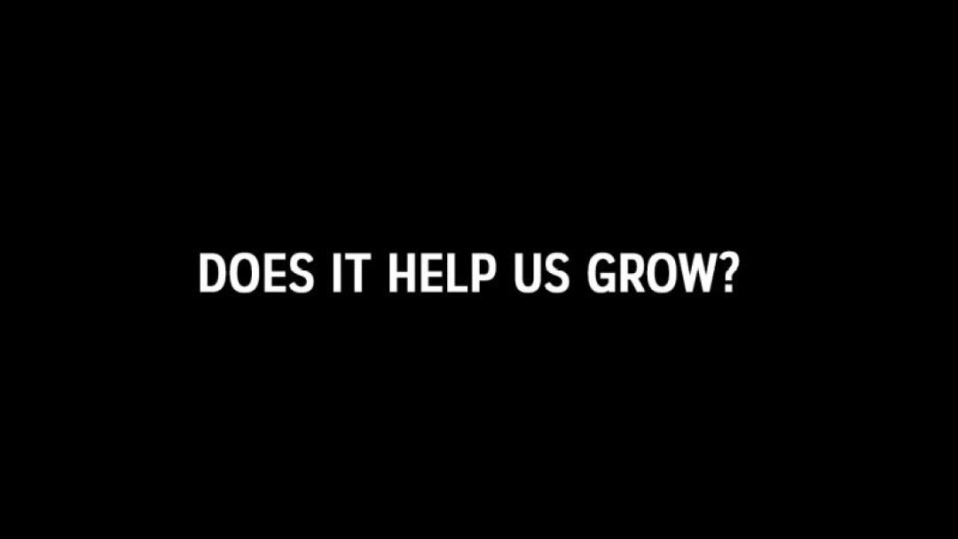 does it help us grow