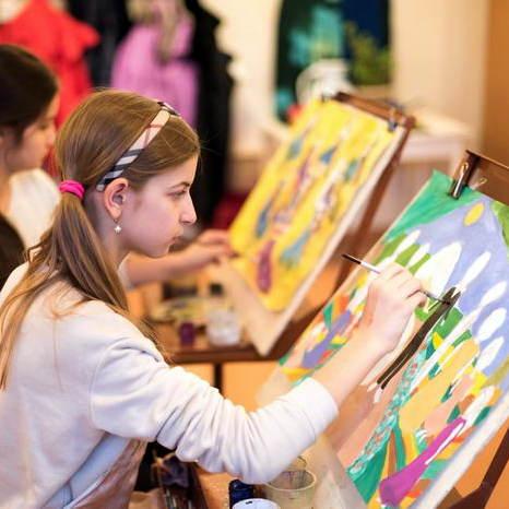 мастер класс по живописи для детей
