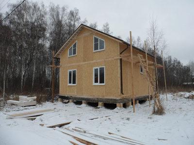 Строительство дома на Можайском шоссе недорого