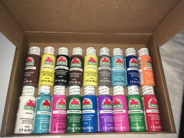 Canvas Painting Supplies Step By Step Painting