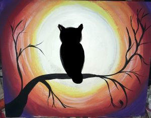 Fall Canvas Paintings Easy Painting For Beginners Step By