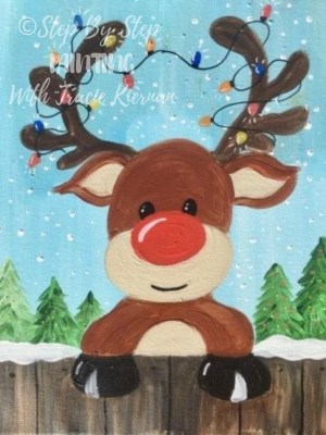 Rudolph Archives Step By Painting With Tracie Kiernan