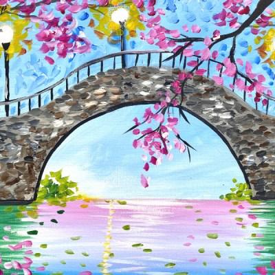 """Cherry Blossom Bridge"" Members Tutorial For April 2021"