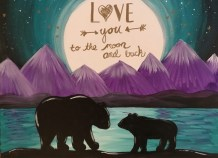 Bear Love You To The Moon And Back