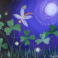 How To Paint Whimsical Clovers