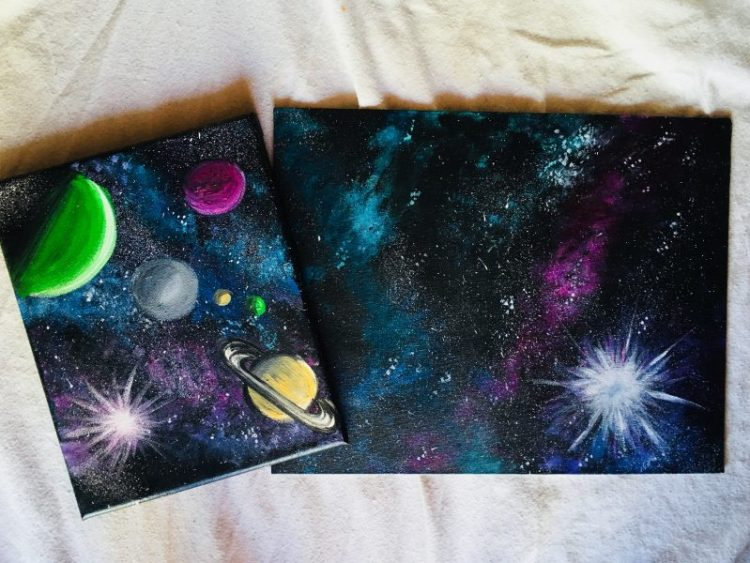 Galaxy painting