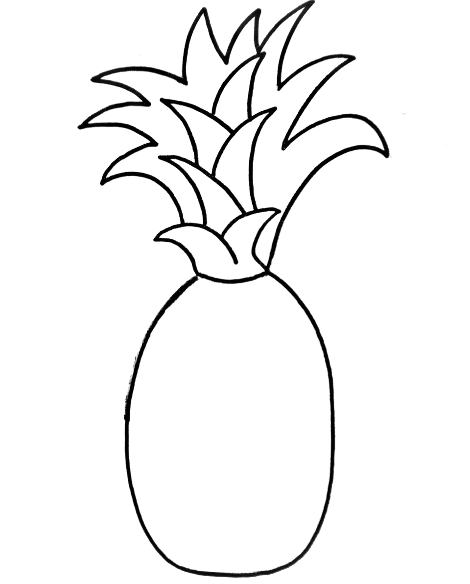 100 I Am Obsessed With Pineapples Crafts Drawi Learn To Draw A