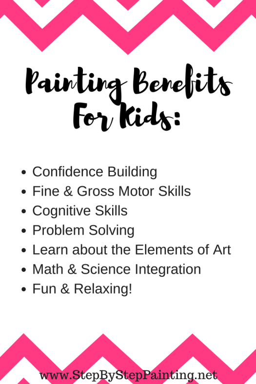 painting with kids the benefits and rewards