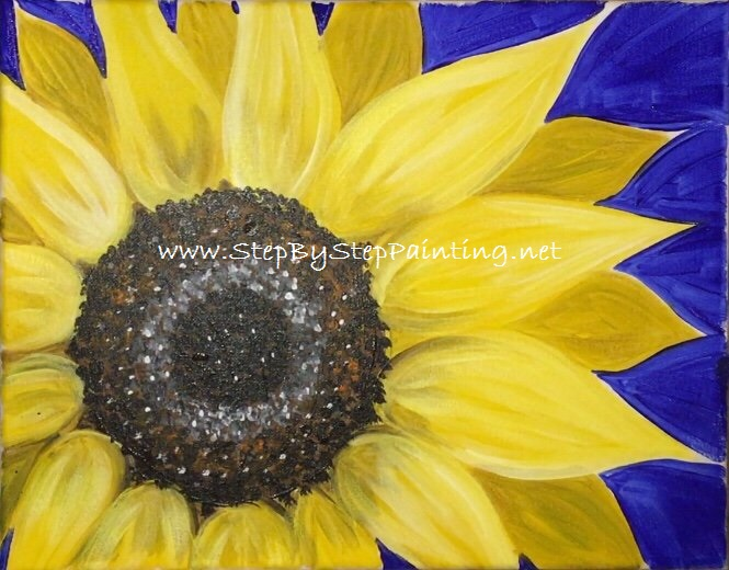 Young Black African American Boy w// Sunflower For Teacher Real Canvas Art Print