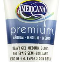 DecoArt Gel Americana Premium Acrylic Medium Paint Tube 2.5oz